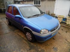 2000 Vauxhall Corsa GLS 973cc manual 95000 miles with 2 sets of keys from deceased estate