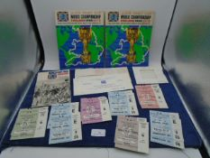 Collection of World Cup 1966 Jules Rimet Cup World Championship football memorabilia to include 6