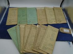 Approx 20+ Vintage motor vehicle and bicycle with various dates from 1936 - 1970 to incl