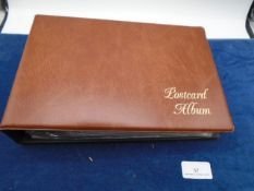 A similar brown album with about 5 booklets and French 1st day cover 3rd June 1937 Windsor and