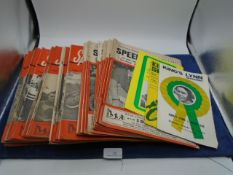 Quantity of Speedway Star & News magazines dated 1961-1963, Various volumes from 10 to 12, approx 44