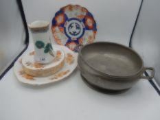 Manor Period T W & Co ltd Sheffield Pewter fruit bowl, approx 21cm diameter, marked 2285