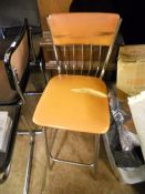 Vintage Bar Seat for reupholstery
