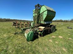 Two row Stoll beet harvester