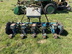 Webb 5 row beet drill