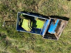 Box of plough spares