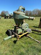 Grain blower