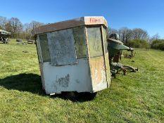 Fair ground control hut