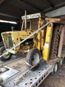FORD 3000 tractor, 15,000hrs with verge flail mower