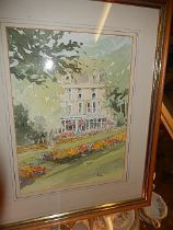 Pat Newton CIGA & ABSP Watercolour Bettys Tea Rooms Harrogate 10 x 8 inches