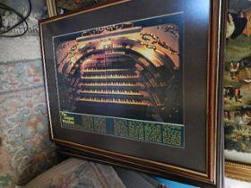 Wurlitzer Organ Picture 11 x 16 inches