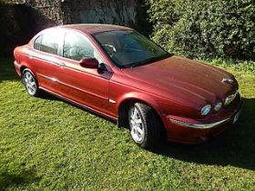 Jaguar X-type V6 SE Auto 2006 ( one owner from new from deceased estate) 70781 miles with V5 & 2