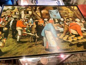 Wedding Feast Print 22 x 33 inches