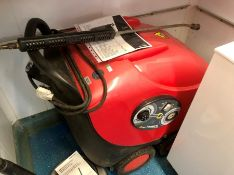pressure washer MAC International with circular floor cleaner