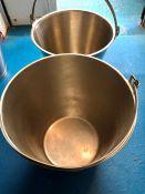 2 x buckets