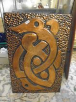 Copper arts and craft style picture