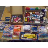 Matchbox boxed die cast cars and loose cars