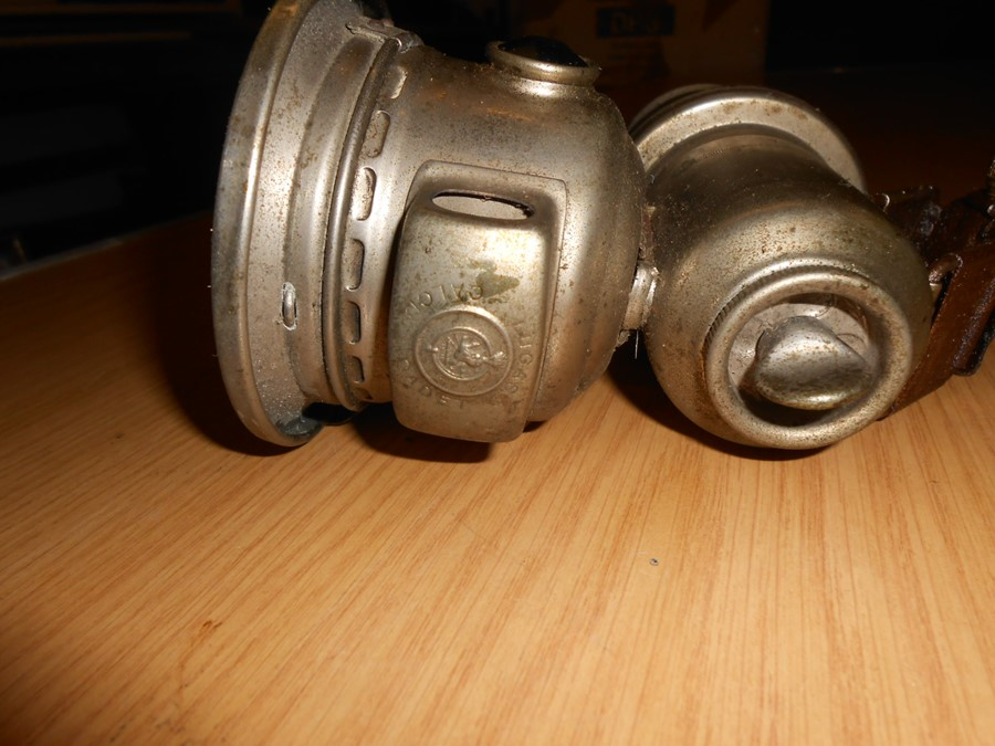 Lucas Calcia Cadet carbide cycle lamp - Image 3 of 4