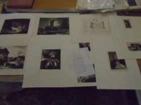 7 various prints including byer interior