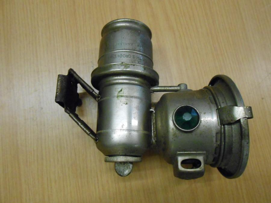 Lucas Calcia Cadet carbide cycle lamp - Image 4 of 4