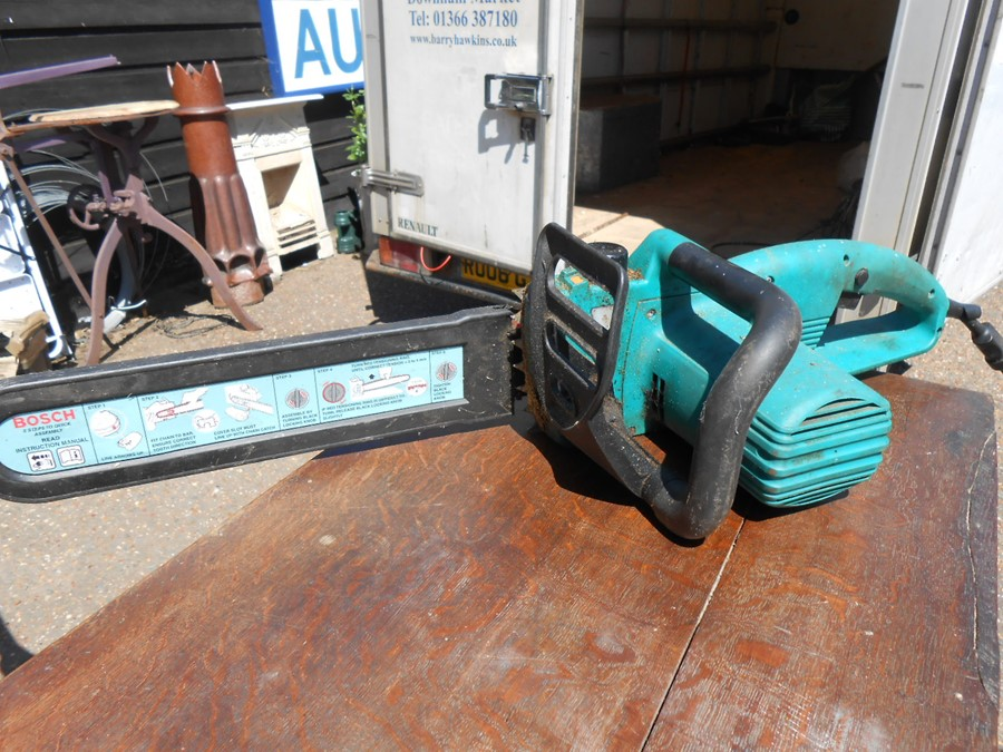 Bosch 40-175 Electric Chainsaw ( house clearance ) - Image 3 of 3