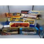 Lledo die cast models of cars and planes and Corgi Weetabix lorry models