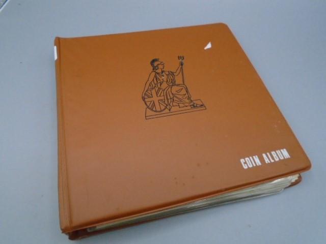 Album of shillings Geo III x 17, Geo IVx3, Geo V x 127