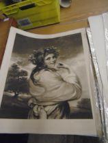10 large full length classical portraits