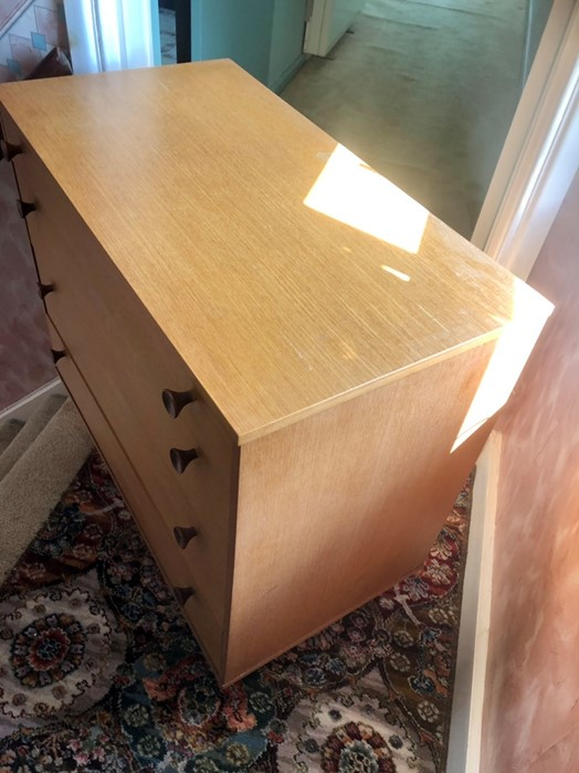 Retro Avalon 4 drawer chest of drawers - Image 3 of 4