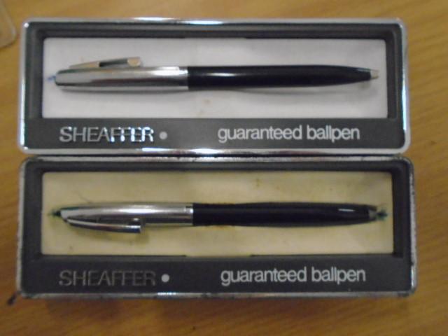 Sheaffer ball point pens x2