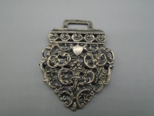 silver half a nurses belt buckle