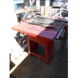 Sealey SM37 Contractors Table Saw ( removed from deceased estate , mains lead cut off at motor, will
