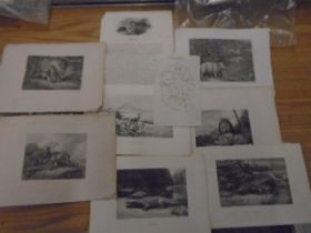 """25 prints of mainly cathederals11x9"""""""