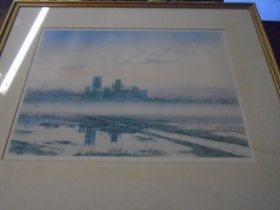 Peter Hayman Limited Edition Print 35/850 of Ely Cathedral 18 x 13 inches