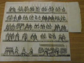 print The procession at the christening of Prince Arthur, son of Henry V11