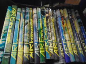 Box of Air International books