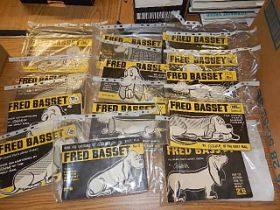 Fred Basset 'The hound that's almost human!' books, 13 in total