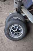 4 MG rostyles wheels and tyres