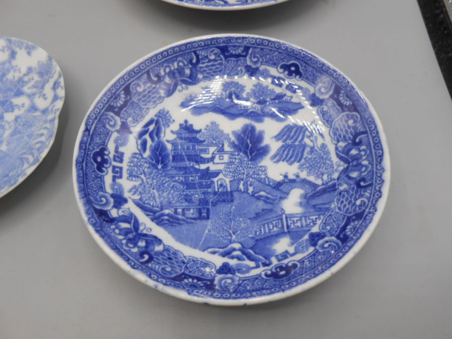 Assorted Blue and White China - Image 4 of 10
