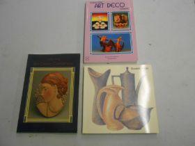 Dynamic Design Kathy Niblett and 2 copies Collecting Art Deco Ceramics Howard and Pat Watson