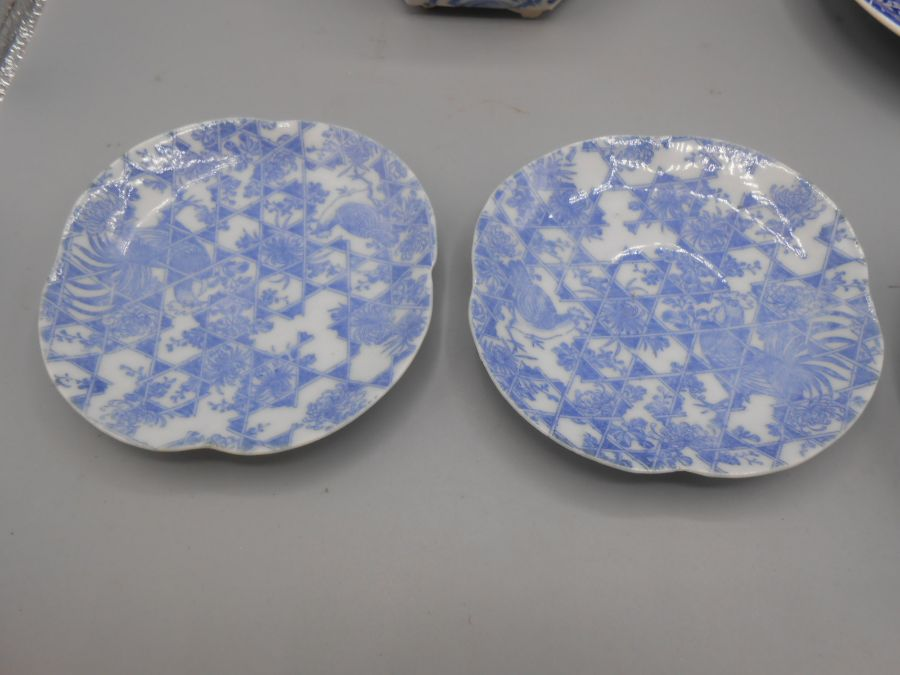 Assorted Blue and White China - Image 3 of 10