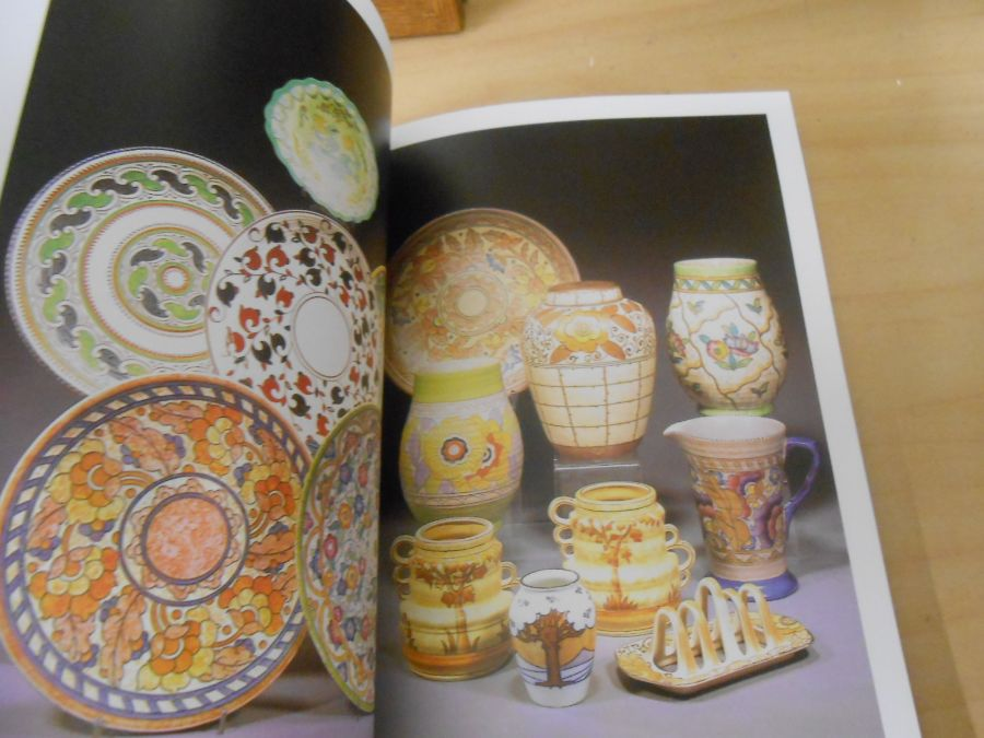 Charlotte Rhead Potter and Designer Bernard Bumpus and Collecting Rhead pottery Bernard Bumpus - Image 9 of 11