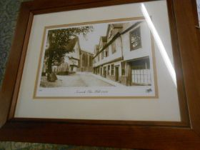 4 Modern Prints 8 x 11 inches Walsingham , Fakenham , Norwich and East Dereham