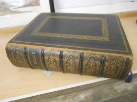 Antique Family Bible 10 x 13 inches