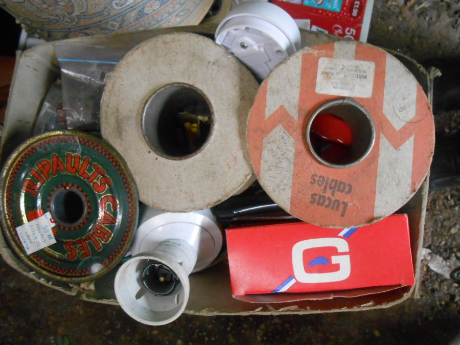 Half Stillage of Tools etc etc there are some tins of paint included look at the photos buyer clears - Image 11 of 25