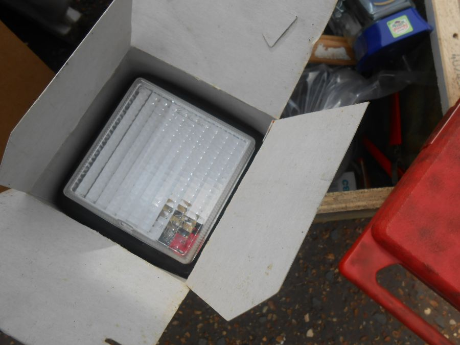 Half Stillage of Tools etc etc there are some tins of paint included look at the photos buyer clears - Image 2 of 25