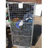 Stillage of Mens Clothes etc from house clearance ( stillage not included )
