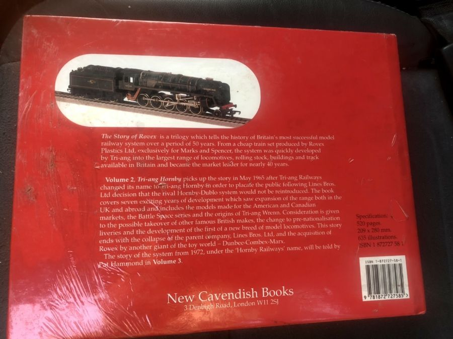Triang Hornby The Story of Rovex Vol 2 165-1971 ( new still sealed ) - Image 2 of 2