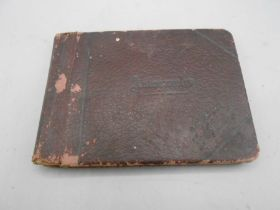1920s Autograph Book with various poems sketches etc inside 5 x 4 inches