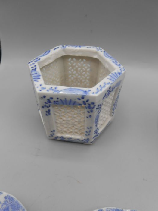 Assorted Blue and White China - Image 2 of 10